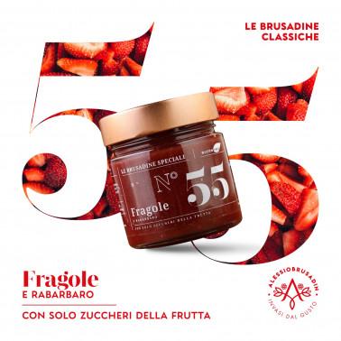 "Strawberries and Rhubarb ""Brusadina"" di Alessio Brusadin"