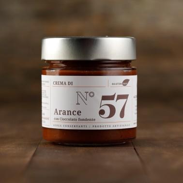 Crema d'Arance con Cioccolato Fondente di Alessio Brusadin
