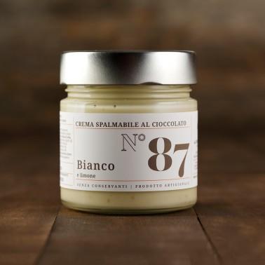 Crema spalmabile al Cioccolato Bianco e Limone di Alessio Brusadin