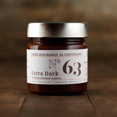 Crema spalmabile al Cioccolato Extra Dark di Alessio Brusadin