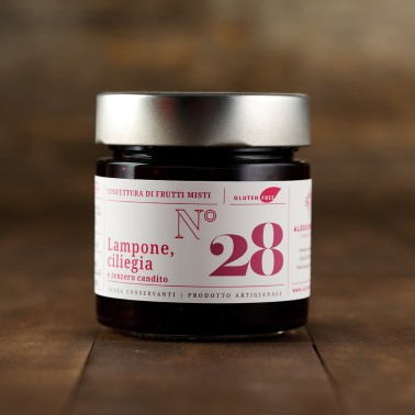 Raspberry, Cherries and Candid Ginger Jam di Alessio Brusadin