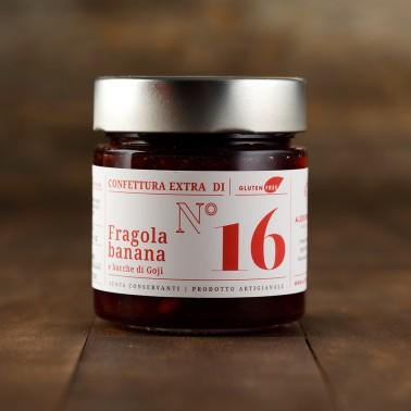 Strawberrues, Banana and Goji Berries Jam di Alessio Brusadin