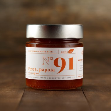Peachs, Papaya e Lemongrass Jam di Alessio Brusadin