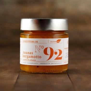 Confettura di Ananas, Bergamotto e Miele di Ailanto di Alessio Brusadin
