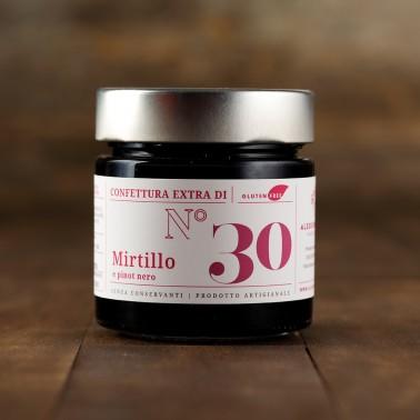 Confettura Extra di Mirtillo e Pinot Nero di Alessio Brusadin