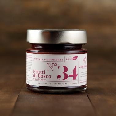Chutney ai Frutti di Bosco e Cipolla Rossa di Alessio Brusadin