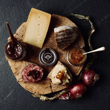 Figs, Fennel and Pink Peppercorn Chutney di Alessio Brusadin