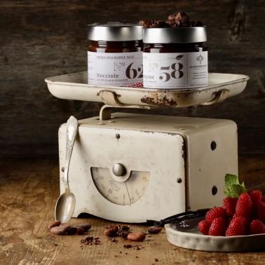 Crema di Lamponi e Cioccolato Fondente di Alessio Brusadin