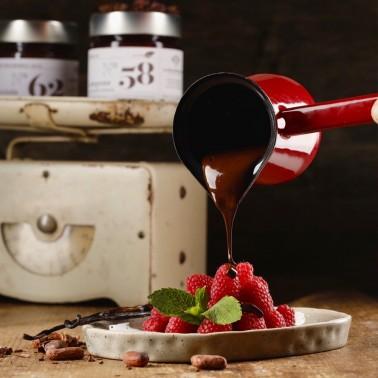 Crema spalmabile al Cioccolato Fondente e Ruhm di Alessio Brusadin