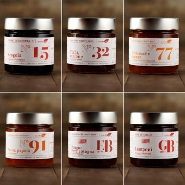 Tasting Pack 1 - 6 Special Jams di Alessio Brusadin