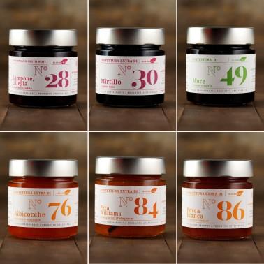 Tasting Pack 2 - 6 Special Jams di Alessio Brusadin
