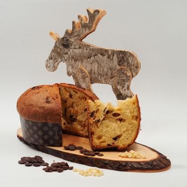 Panettone with Three Chocolates di Alessio Brusadin