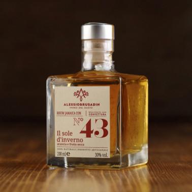 "Jamaica rhum n°43 ""the Winter Sun"" 200 ml di Alessio Brusadin"