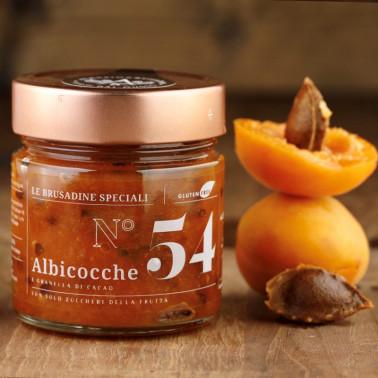 """Apricot and cocoa bean grains """"Brusadina"""" di Alessio Brusadin"""