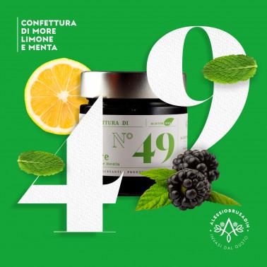 Black Berries, Lemon and Mint Jam di Alessio Brusadin