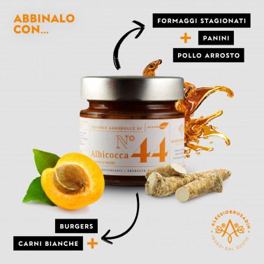 Apricot, Ginger and Honey Chutney di Alessio Brusadin