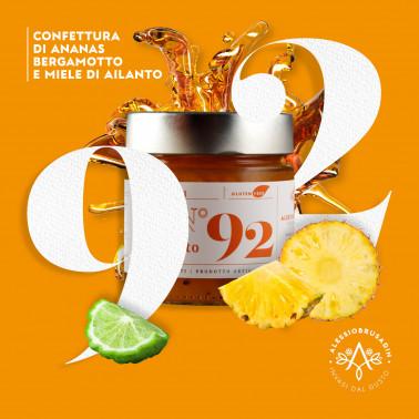 Pineapple, Bergamot and Honey Jam di Alessio Brusadin